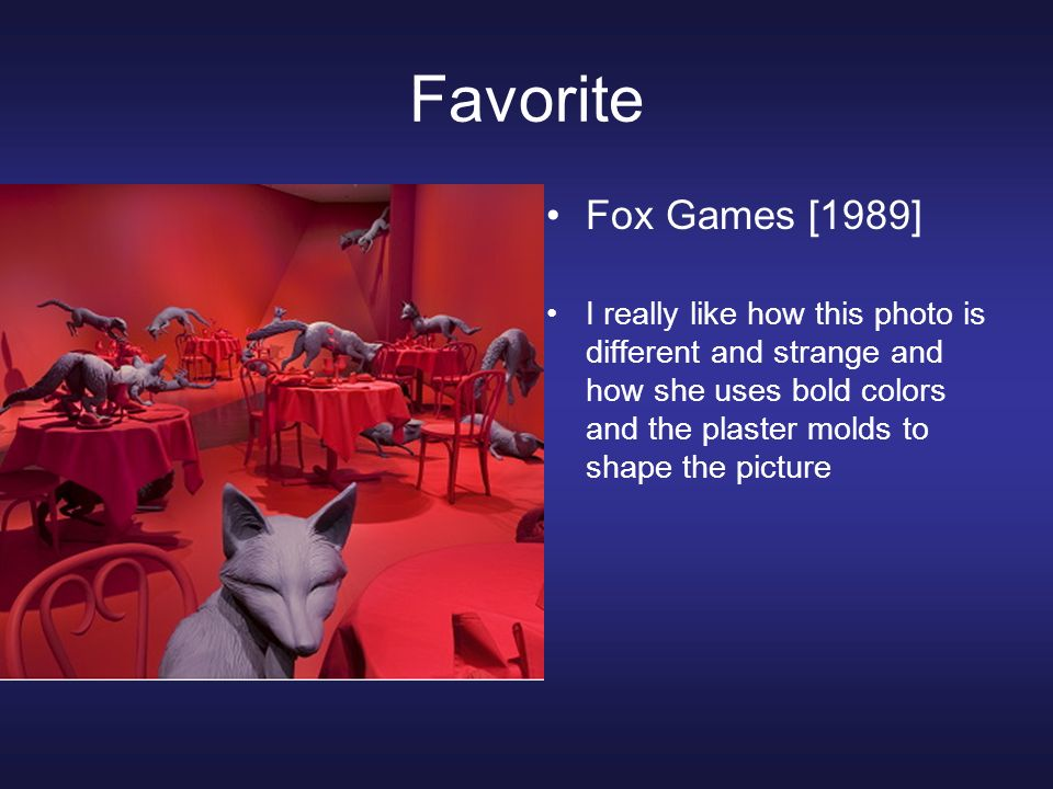 Favorite Fox Games [1989]
